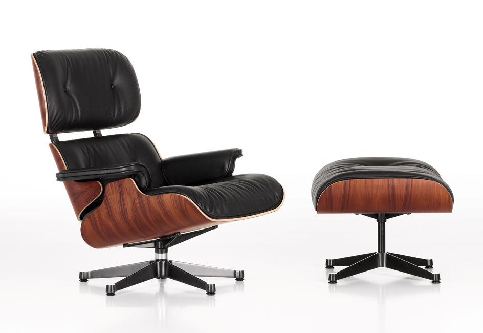 Story Of Eames Lounge Chair+ottoman.