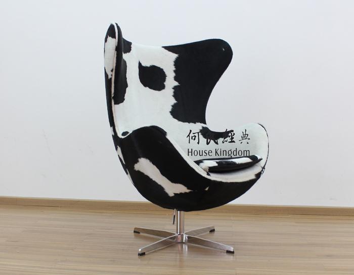 BLACK U0026 WHITE COWHIDE