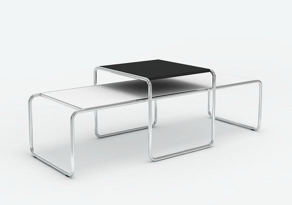 set of marcel breuer laccio tables small and long available as either a side table or coffee table the simple design of the laccio is based on the tubed - Marcel Breuer Tisch